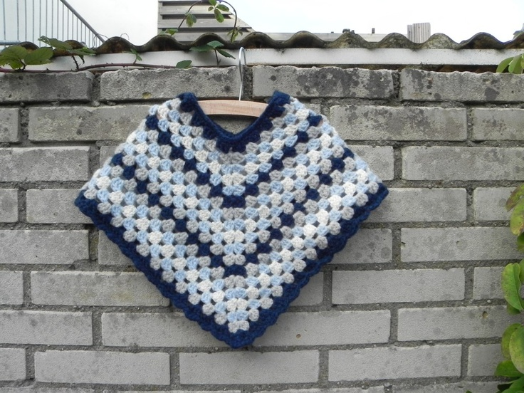 I had this when I was 3.  I loved it. Crochet baby poncho