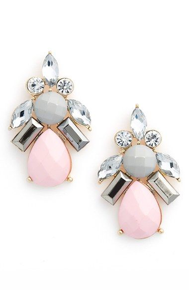 BP. Jeweled Drop Earrings available at #Nordstrom
