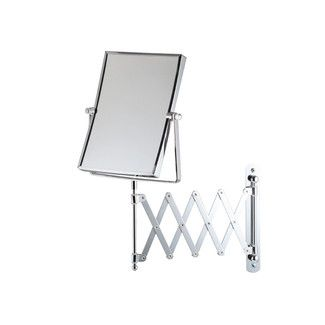 <strong>Bathroom Origins</strong> Square Extendable Wall Mirror