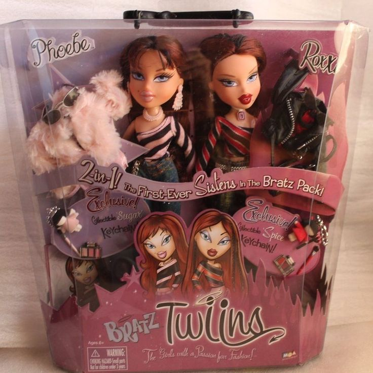 twins bratz roxxi amp phoebe mga 2 in 1 the firstever