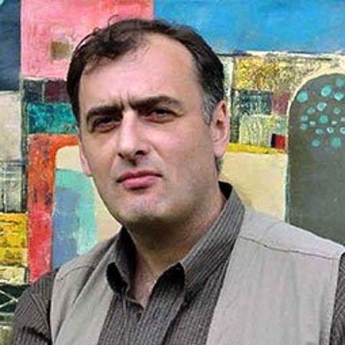 artist Emzar Khabuliani (b1963; Tbilisi, Georgia)