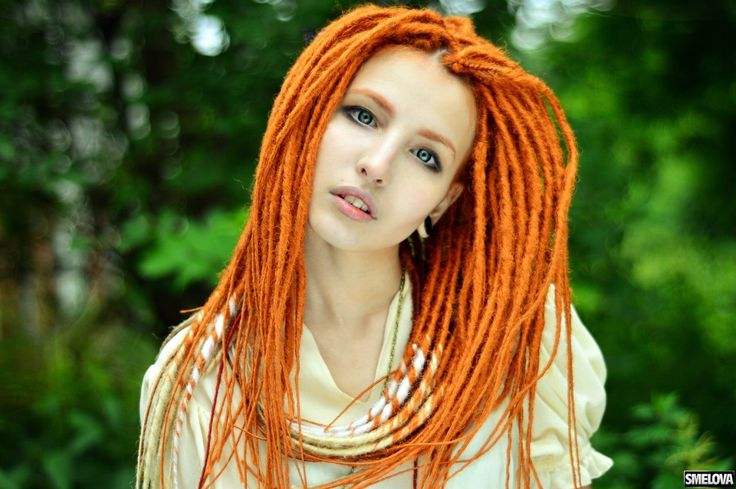 Clockwork Orange Synthetic dreads x10 or FULL SET bright redhead Dreadlocks Fall Hair Extensions red dread free shipping by BasiliskHairs on Etsy https://www.etsy.com/listing/292002323/clockwork-orange-synthetic-dreads-x10-or