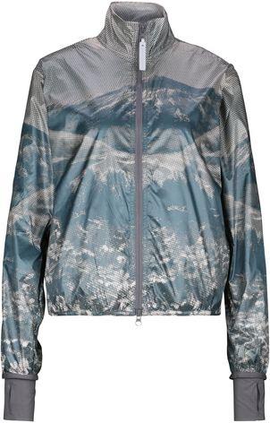 Dank super leichtem Material, eignet sich diese Trainingsjacke bestens für Outdoor-Trainings. Shoppen Sie die bedruckte Sportjacke   jetzt online auf REYERlooks.com!