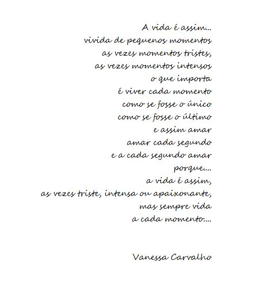 Poesia de Autoria Própria