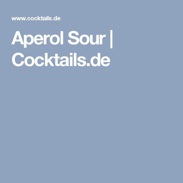 Aperol Sour | Cocktails.de