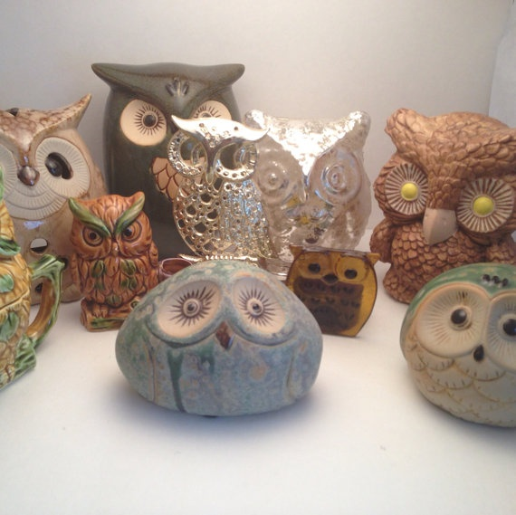 Instant Collection Owl Home Decor On Etsy 35 00 Cad
