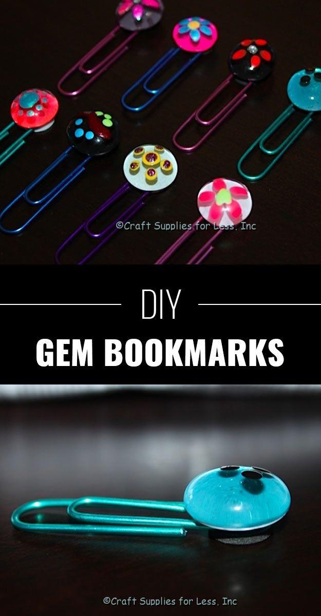 8.Gem Book Markers