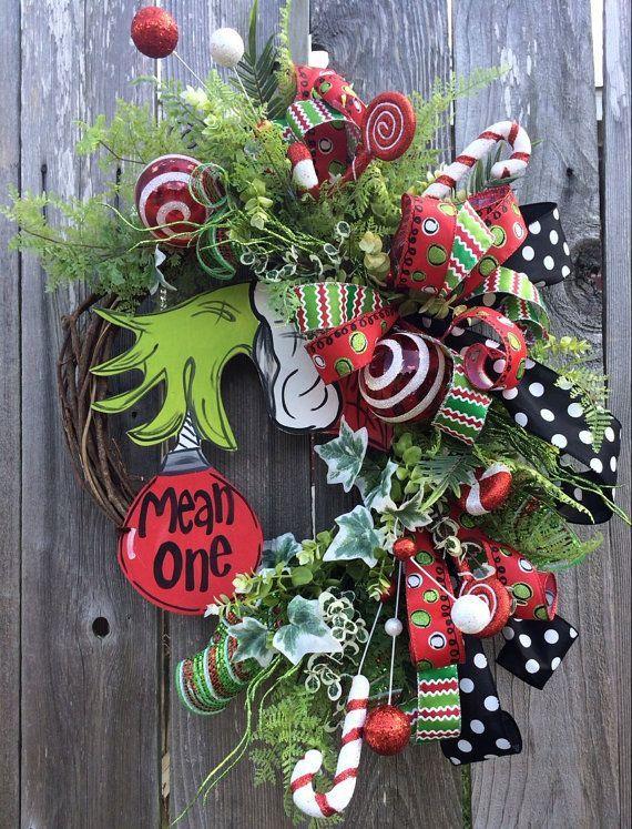 Christmas Decor Grinch : Best grinch christmas ideas on