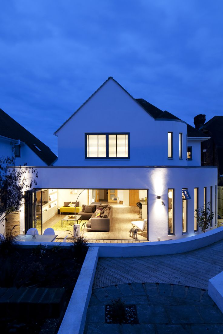 Curved Architecture 8 Best Modern Curved Extension Hove East Sussex Images On