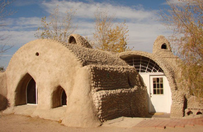These houses can be any shape or size your heart desires, and they are eco friendly! The possibilities are endless.
