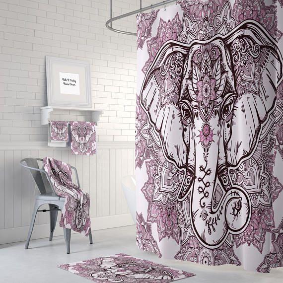 Best 25 Elephant Shower Curtains Ideas On Pinterest