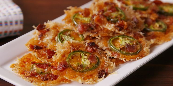 Our three favorite flavors: spicy, cheesy, and... bacon-y.