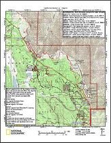 pacific crest trail, thru hike, maps, map, halfmile | Hiking | Trail ...