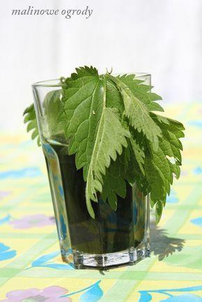 sok z pokrzywy   Malinowe Ogrody