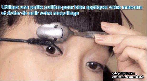 Vous avez réussi votre maquillage d'aujourd'hui, il ne vous reste plus qu'à mettre votre mascara et on y va ! Mais là, catastrophe. Vous en mettez partout sur votre paupière, et votre maquillage est ruiné... Pour ne ça arrive, vous pouvez désormais utiliser cette technique :  Découvrez l'astuce ici : http://www.comment-economiser.fr/bien-appliquer-mascara.html?utm_content=buffer1b2a5&utm_medium=social&utm_source=pinterest.com&utm_campaign=buffer