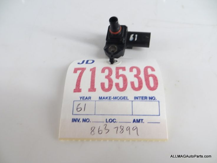 2014-2017 Mini Cooper Manifold Absolute Pressure MAP Sensor 61 13628637899 F5X