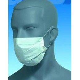 Mascarilla desechable, dos capas de papel. Higiene y seguridad para el profesional y el cliente. Color blanco. http://www.ilvo.es/es/product/mascarilla-2-capas