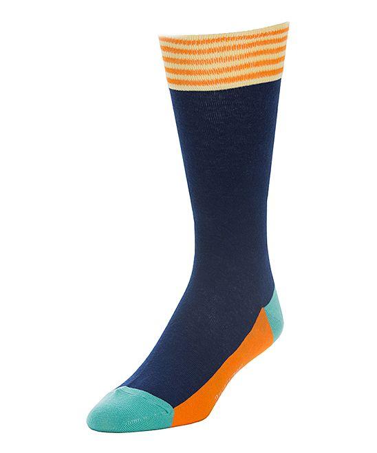 Yellow & Blue Champion Socks