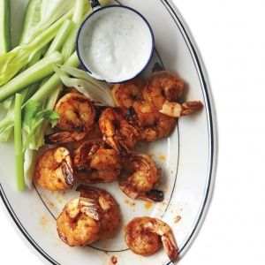 Roasted Buffalo Shrimp | FOOD || Seafood | Pinterest
