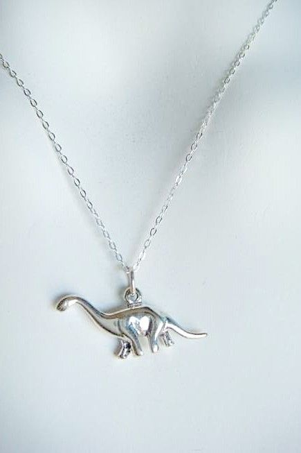 dinosaur necklace!