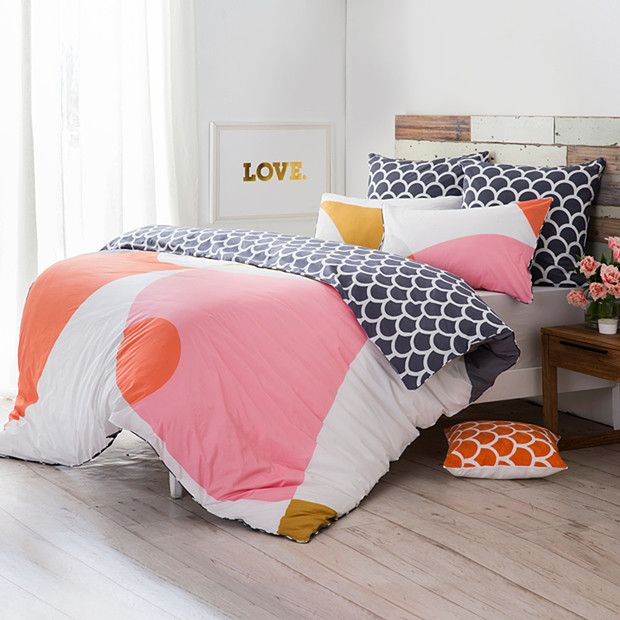 Real Living Abra Quilt Cover Set from Target. Love it!