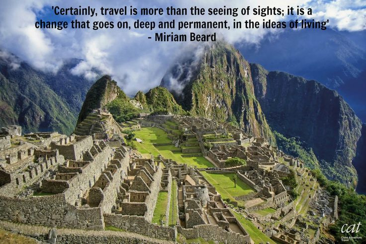 Travel Quote Of The Week: Our Travel Quote Of The Weekend From This Week's Must-see