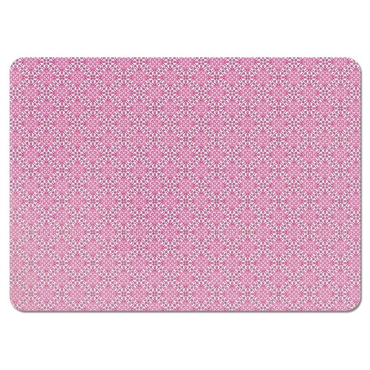 Uneekee Paradise Pink Placemats (Set of 4) (Paradise Pink Placemat) (Polyester)