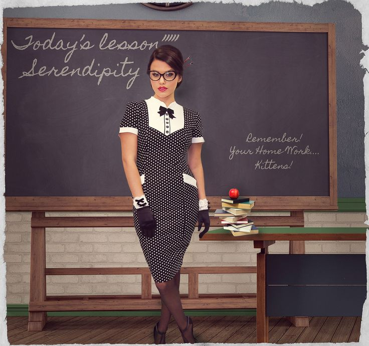 Serendipity Spot Wiggle Dress