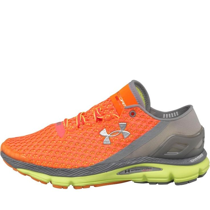 Under Armour Womens Micro G Speedform Gemini Neutral Running Shoes After Burn