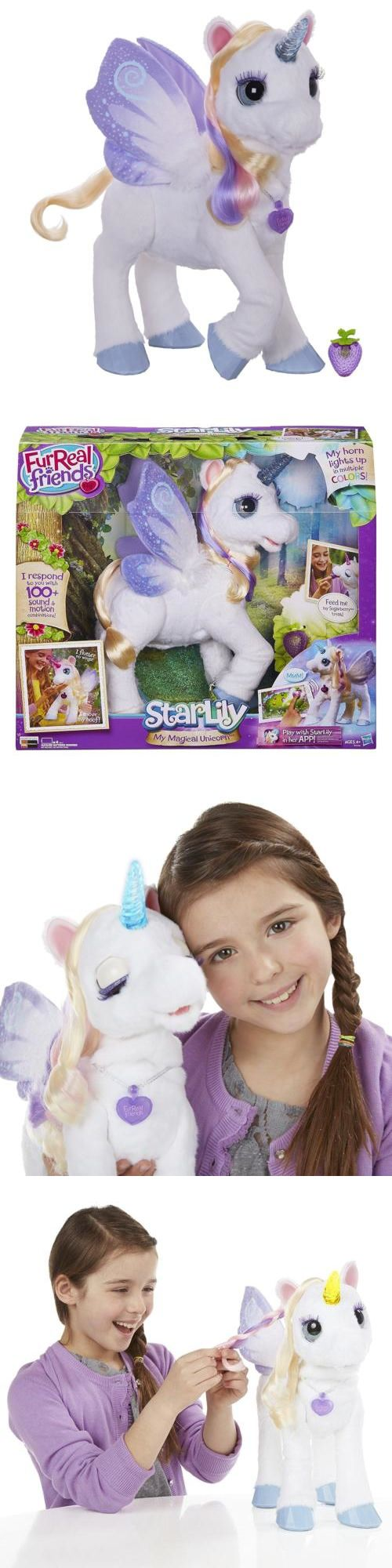 FurReal Friends 38288: Furreal Friends Unicorn Starlily My Magical Unicorn Girls Toy Gift New -> BUY IT NOW ONLY: $131.21 on eBay!