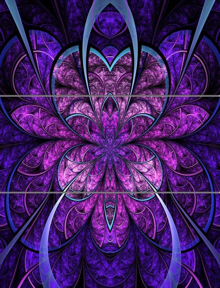 Pin By Cheryl Milstein On Fractals Fractals Fractal Art Flower Blanket