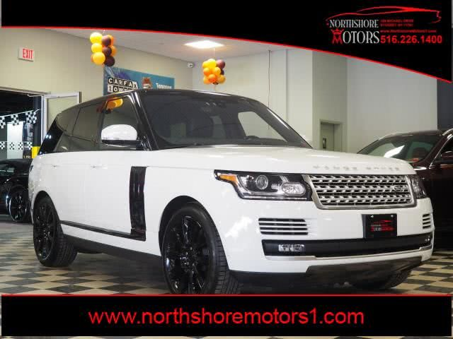 Used 2017 Land Rover Range Rover In Syosset New York Northshore Motors Syosset New York Used Cars Cars For Sale 2016 Bmw 3 Series