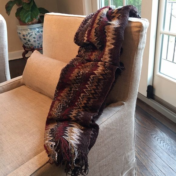 "Missoni scarf Gorgeous Missoni scarf in iconic zig zag pattern. NWOT oblong 16"" wide 70"" long. Smoke free home Missoni Accessories Scarves & Wraps"