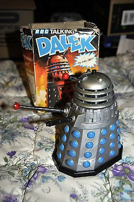 Doctor who 1970s #palitoy tomy talking #dalek boxed! #working! l@@k! free postage,  View more on the LINK: 	http://www.zeppy.io/product/gb/2/152094482688/