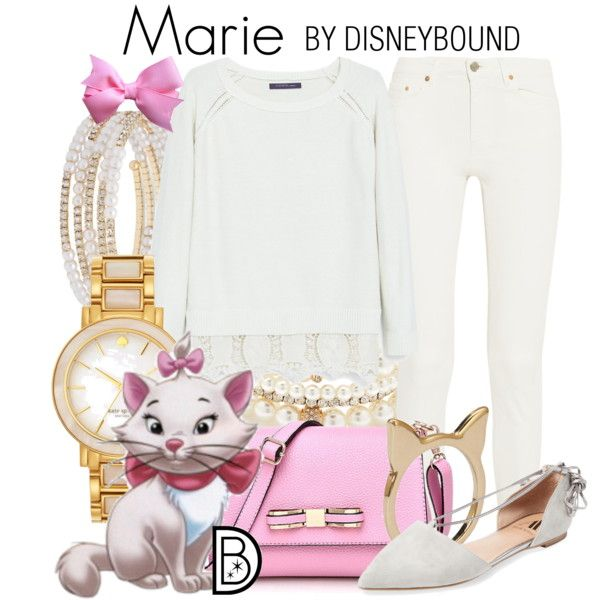 Marie by leslieakay on Polyvore featuring Violeta by Mango, Acne Studios, Ava & Aiden, Kate Spade, Anne Klein, Forever 21, Disney, disney and disneybound