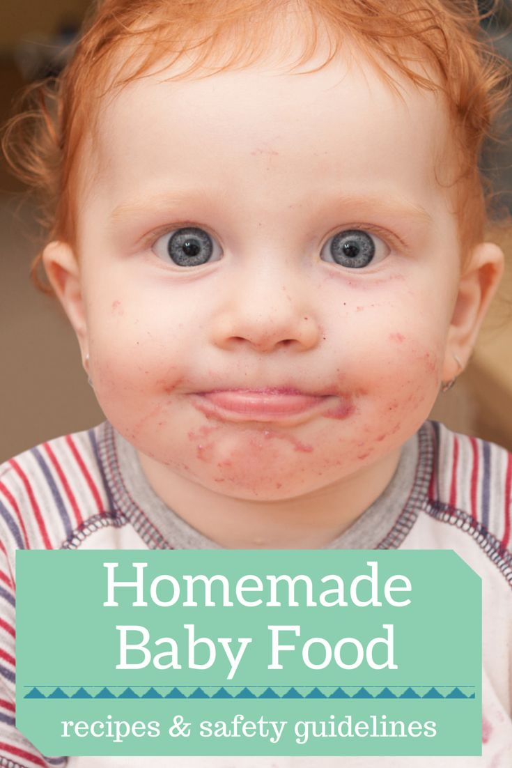 How to Make Your Own Baby Food   Baby Food Recipes and Safety Guidelines