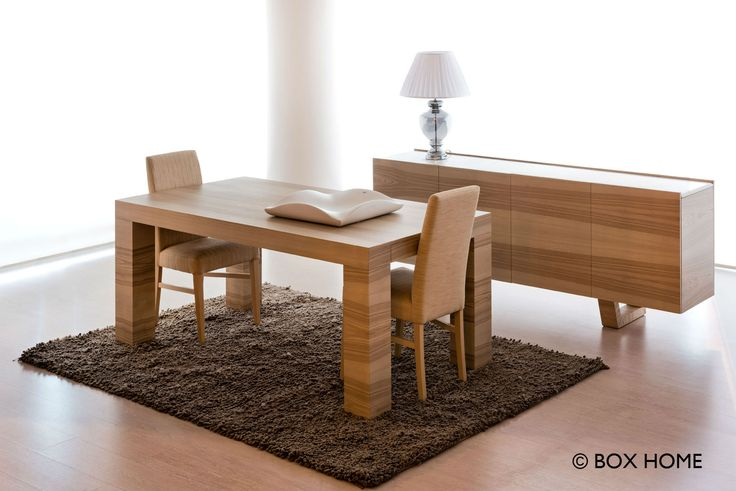Τραπεζαρία ROMA & Μπουφές LUDOVICO  wood dining room