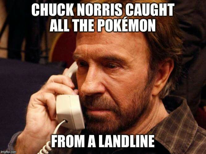Chuck Norris chooses you!