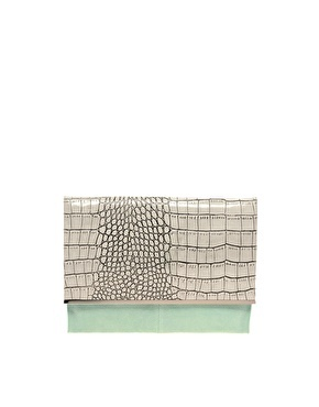 {great little DVF Adele clutch dupe at ASOS}