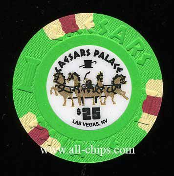 #LasVegasCasinoChip of the Day is a $25 Caesars Palace New rack 2013 you can get here http://www.all-chips.com/ChipDetail.php?ChipID=17061 #CasinoChip #LasVegas #CaesarsPalace