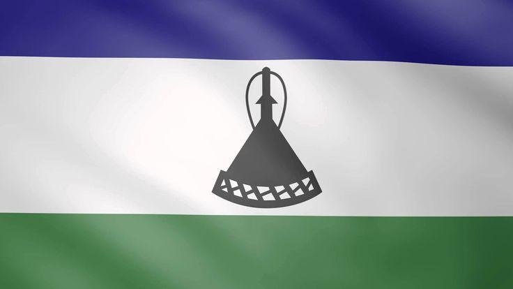 Lesotho Animated Flag