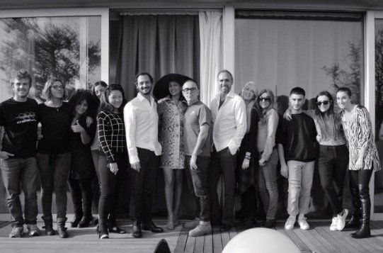 The team (http://www.luxuryfiles.it/magazine/Winter-2014-12)