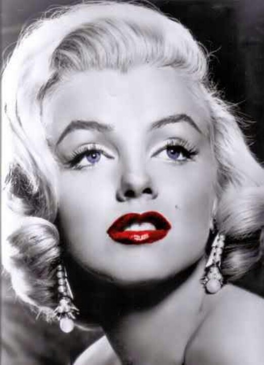 Apologise, marilyn monroe red lips have hit