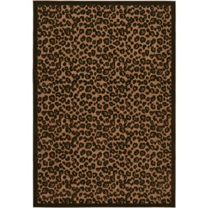 Leopard Print Rug - Never bought it but I ended up buying a red one from Walmart