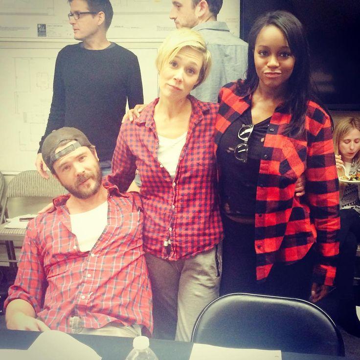 Charlie Weber, Liza Weil and Aja Naomi King.
