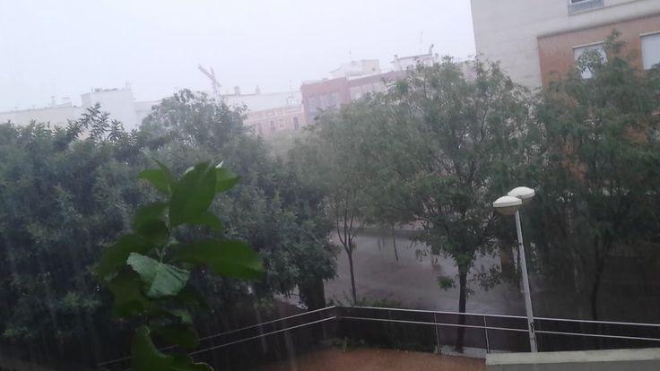 Lluvia  en  Córdoba  en verano  28 agosto  -