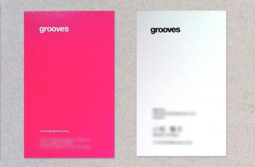 grooves 名刺