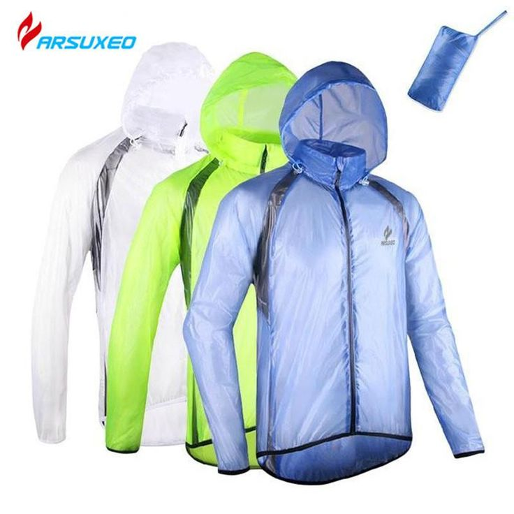 [Visit to Buy] ARSUXEO chaqueta hombre Winter ciclismo Bicycle Running Jacket Coat Jersey Windproof Cycling Bike Waterproof Pack Rain Jacket  #Advertisement