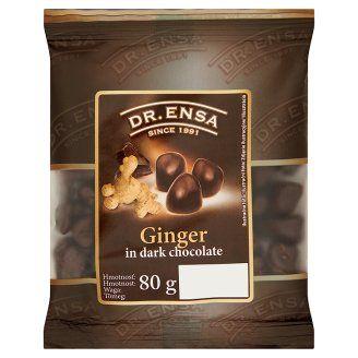 Dr. Ensa étcsokoládéba mártott gyömbér 80 g - Tesco Bevásárlás