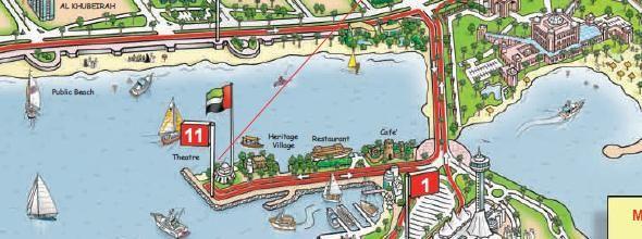 Abu Dhabi Tourist Map Sightseeing In Abu Dhabi Big Bus Tours - Bus map abu dhabi